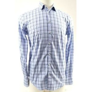 Rag & Bone Men's Dress Shirt Size 15.5 Blue